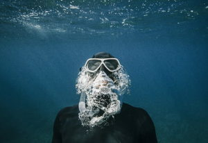 best scuba mask for beards